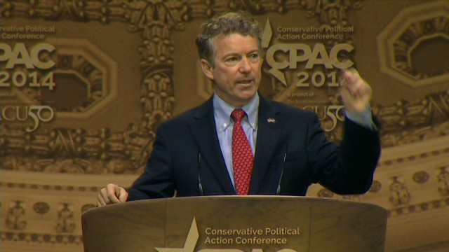 Sen. Rand Paul convincingly wins CPAC presidential straw ...