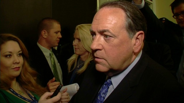 First on CNN: Huckabee gets warm reception from House Republicans