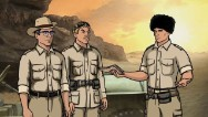 "The show ""Archer"" has decided to use some levity to deal with a name that is far from funny these days."