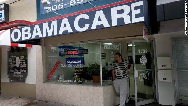 First on CNN: Obama campaign group helps health insurance sign-up effort