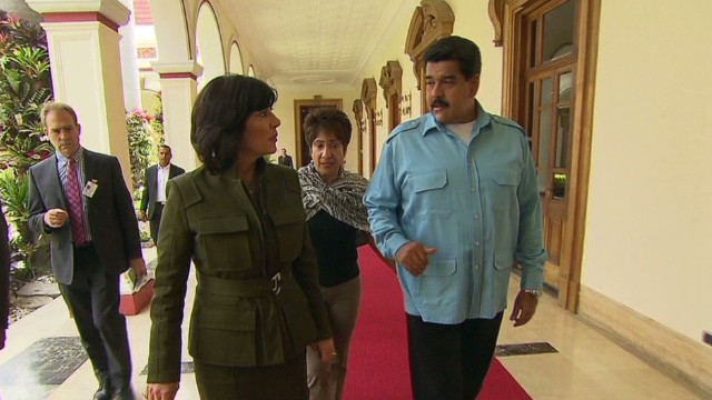 Reporter's notebook: Interviewing Maduro