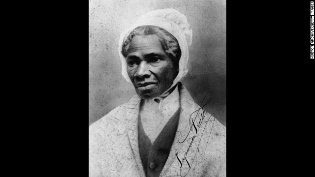 "Orator and civil rights activist Sojourner Truth was born into slavery and could not read nor write, but her words have endured. Most famously, she declared ""<a href=' in 1851' target='_blank'>Ain't I a woman?</a>"" at a women's rights convention in Akron, Ohio, in 1851."