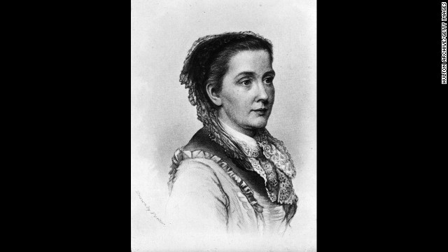 "American feminist, abolitionist and <a href='http://www.juliawardhowe.org/bio.htm' target='_blank'>reformer Julia Ward Howe</a> was a co-editor and writer for the Woman's Journal, a key player in creating Mother's Day and the first female admitted to Society of Arts and Letters. She is best known for writing the ""Battle Hymn of the Republic."""