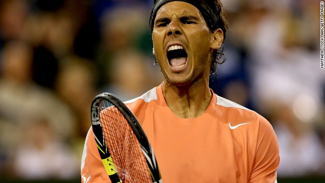 Rafael Nadal had to dig deep to see off the challenge of veteran Czech Radek Stepanek.