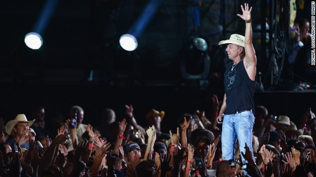 Country music is clearly doing well, as Kenny Chesney occupies the No. 2 spot with $32,956,240.70 in earnings.