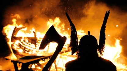 Terrifying Viking warship 'from Hell'