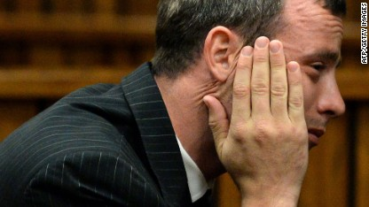 Pistorius repeatedly vomited in court