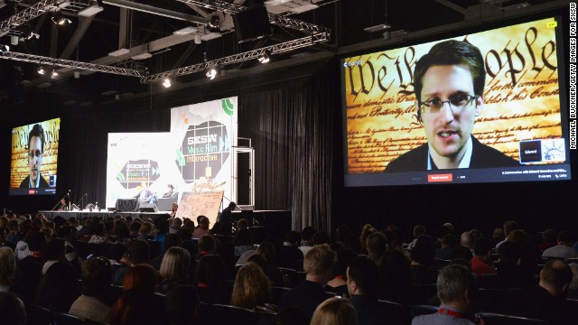 Edward Snowden speaks at SXSW, calls for public oversight of U.S. spy programs