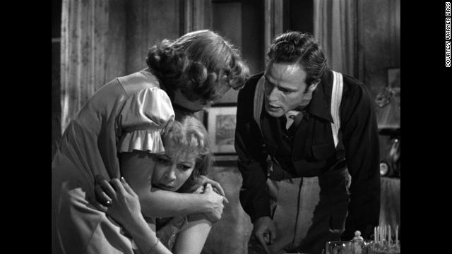 "A 1951 version of ""A Streetcar Named Desire"" starred Kim Hunter, Vivien Leigh and Marlon Brando."
