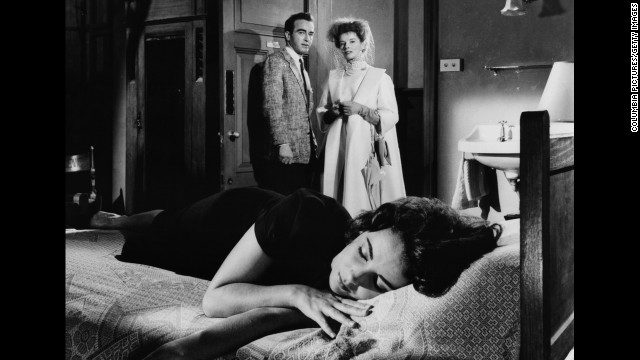 """Elizabeth Taylor, front, and Montgomery Clift and Katharine Hepburn starred in """"Suddenly, Last Summer,"""" in 1959."""