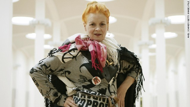 The 72-year-old 'grandmother of punk fashion' said she also wants to scale back her clothing business, due to concerns over environmental sustainability.