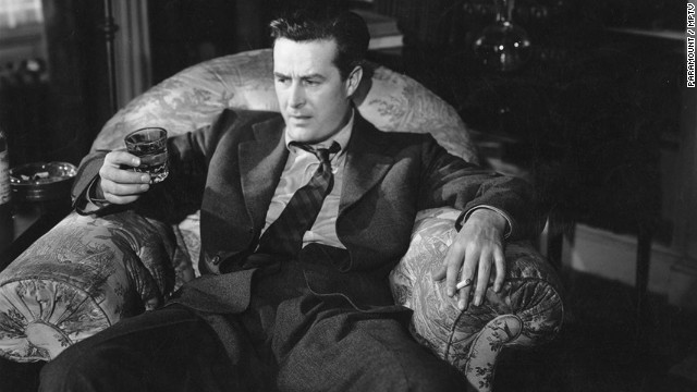 "Ray Milland goes on a four-day drinking binge in 1945's ""The Lost Weekend."" The groundbreaking film won best picture at the Academy Awards."