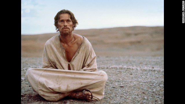 "In 1988, Willem Dafoe portrayed Jesus in what's become one of the most controversial movies about the famous Nazarene, Martin Scorsese's ""The Last Temptation of Christ."" Based on the 1953 novel of the same name, Dafoe's Jesus is one that battles lust, doubt, and a reluctance to fulfill his fate."