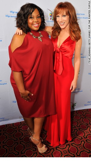 Amber Riley, Kathy Griffin