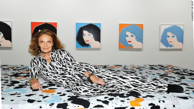 Diane von Furstenberg created the wrap dress in 1974. By 1976, she had sold more than a million of them.