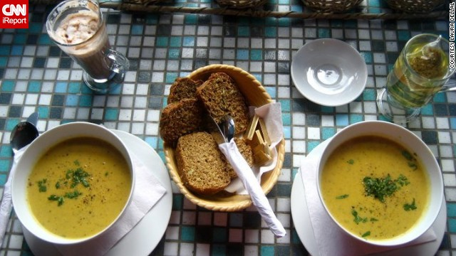 "<strong>County Galway: </strong>""A cup of tea is your best friend in the cold, along with some potato leek soup and soda bread,"" wrote Dellal."