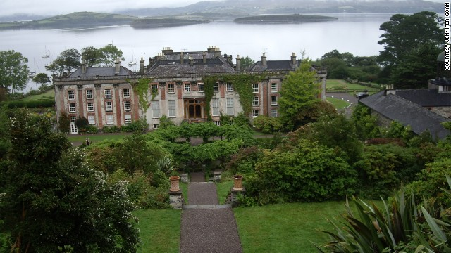 <strong>County Cork:</strong> Bantry House, with the bay behind, is close to Dingle and the Ring of Kerry. <a href='http://ireport.cnn.com/docs/DOC-1100865 '>Jennifer Goan</a> shot this photo from the top of the terraced garden behind the house.