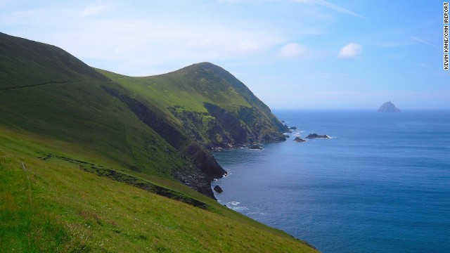 <strong>County Kerry:</strong> The North side of Great Blasket Island