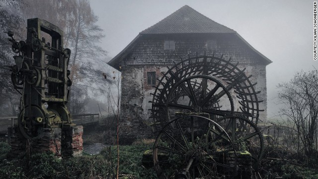 Old mill in Eastern Bavaria, Germany.