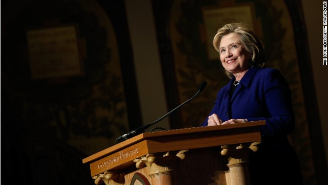 First on CNN: Hillary Clinton to address international Jewish group