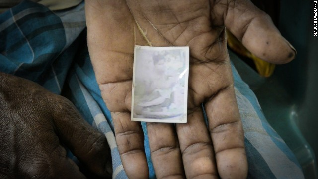 In June 2011, 16-year-old Jaida disappeared from her village in the state of Assam. This faded photo is what remains of her for her parents.