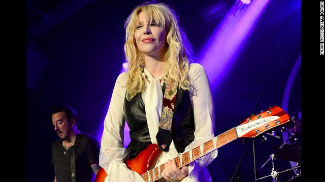 Rock on Courtney Love. The musician/actress turned 50 on July 9.