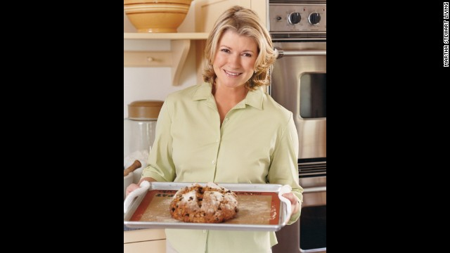 Martha Stewart bakes a crumbly soda bread for the Irish in her life on Saint Patrick's Day.