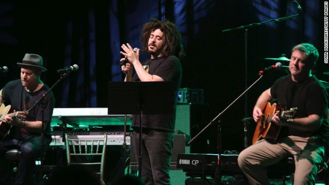 Counting Crows frontman Adam Duritz, who turned 50 in August, barely looks his age.