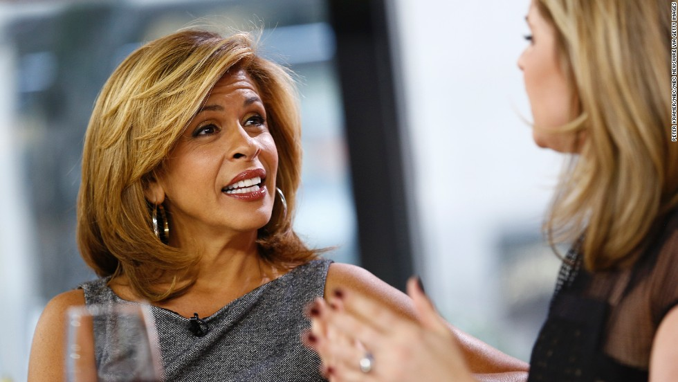 "Breaking news! Hoda Kotb of the ""Today"" show turns 50 on August 8."