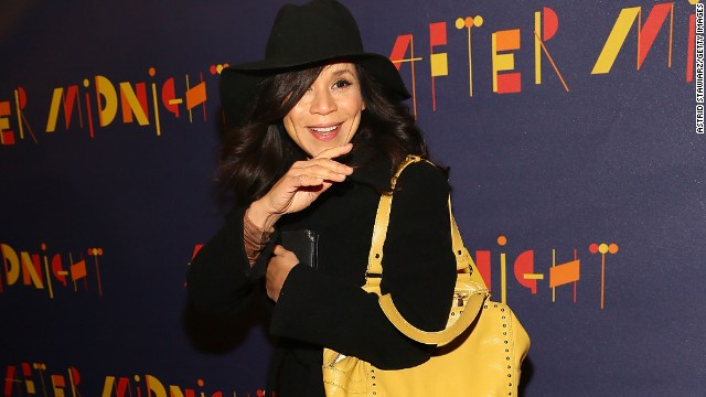 "Rosie Perez has clearly decided to<a href='http://www.youtube.com/watch?v=U35MvblI4og' target='_blank'> ""Fight the Power"" </a>of aging. The actress and new co-host of ""The View"" celebrated her 50th birthday on September 6."