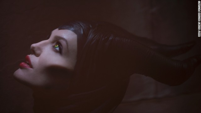 "In ""Maleficent,"" Jolie plays an evil sorceress who tells her side of the story. The movie opened at No. 1 and earned $69.4 million in its first weekend in U.S. theaters."