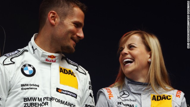 In 2010, Wolff became the first female driver to score points in DTM in al