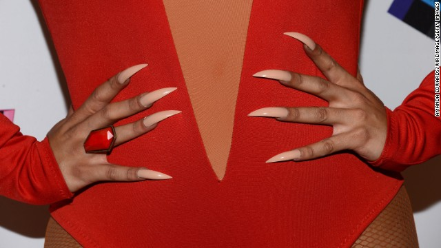 <strong>Artificial nails</strong><!-- --> </br><!-- --> </br>If you're allergic to the acrylic resins found in artificial nails, your manicure may not turn out as well as you had hoped. This allergic reaction can lead to redness and swelling in the nail bed -- and in rare cases cause the nail to fall off. <!-- --><!-- --> </br></br> You can also be allergic to nail strengtheners that use formaldehyde, as well as some of the chemicals in nail glue, tape and gel polish.
