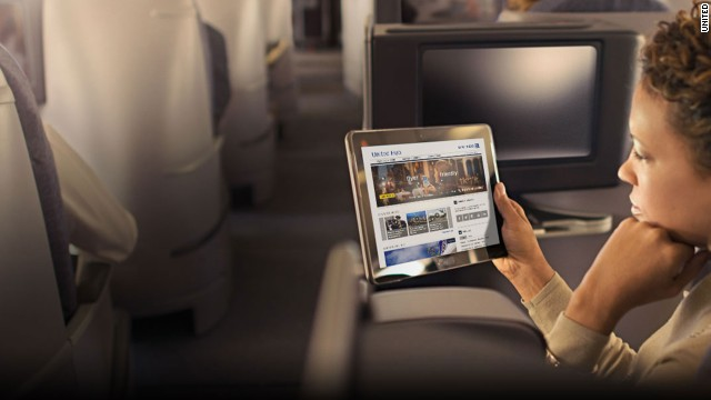 United Airlines is adding in-flight movie and TV streaming for laptops and Apple mobile devices.