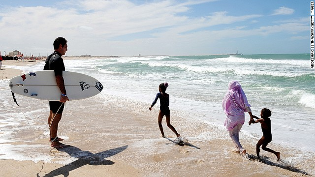 Many in the fishing industry have instead turned their focus to the influx of surfers to the region.