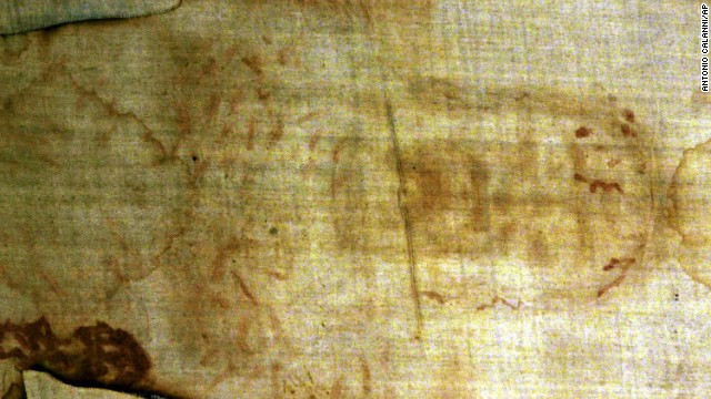 The Shroud of Turin may be the most famous religious relic. <!-- --> </br>Some Christians believe the shroud, which appears to bear the imprint of a man's body, to be Jesus Christ's burial cloth. The body appears to have wounds that match those the Bible describes as having been suffered by Jesus on the cross. Many scholars contest the shroud's authenticity, saying it dates to the Middle Ages, when many purported biblical relics -- such as splinters from Jesus' cross -- surfaced across Europe.