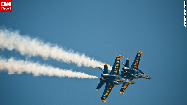 The Blue Angels have been around since 1946. They have flown more than 10 different aircraft during their six-decade history.