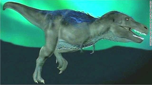 Conoce a 'Nanuqsaurus hoglundi': el primo 'bebé' del tiranosaurio rex