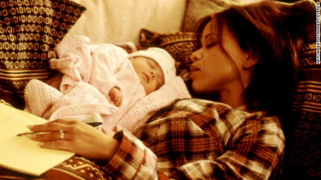 """Perez played the role of Grace, a mom trying to juggle her career and motherhood in the 1999 film """"The 24 Hour Woman."""""""