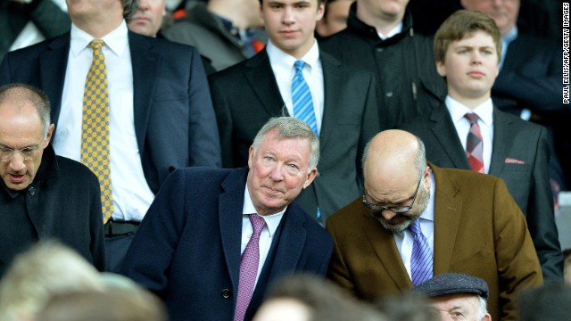 Former Manchester United manager Alex Ferguson watched on from the stands as Liverpool dominated the opening 45 minutes at Old Trafford.