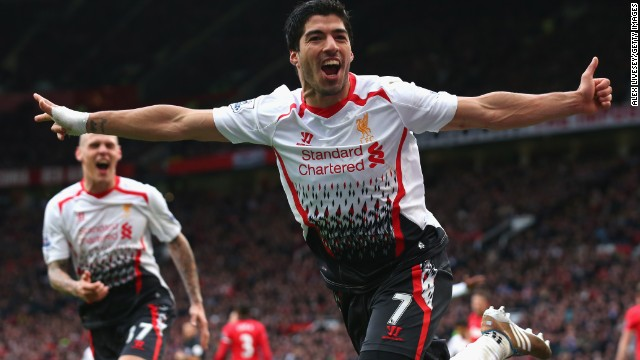 Suarez rounded off the scoring by firing home Liverpool's third with a classy finish for his 25th goal of the season.