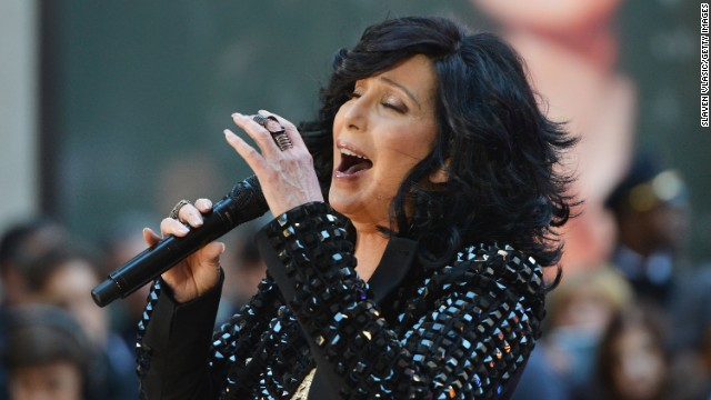 Cher performs on NBC's