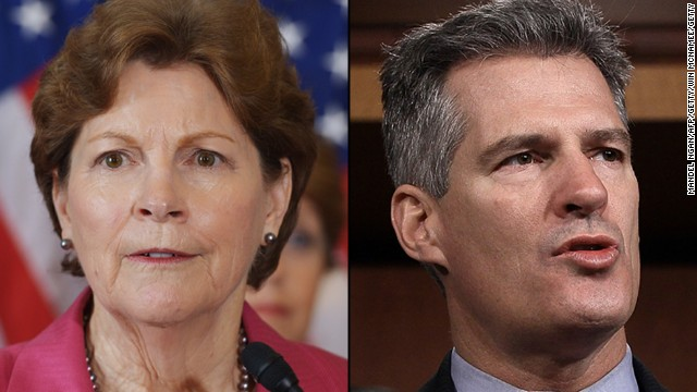 N.H. Poll: Scott Brown, Jeanne Shaheen statistically tied
