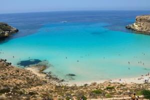 La Playa del Conejo, Italia