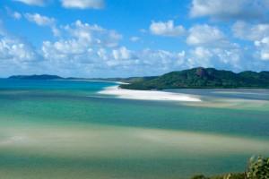 5. Playa Whitehaven, Australia