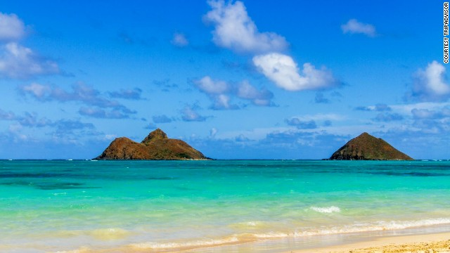 Lanikai Beach in Kailua on Oahu broke into the world's top 10 this year. Last year, the Hawaii beach was No. 5 in the United States, but it didn't make the global list.<!-- --> </br>