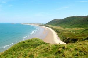 9. Rhossili Bay, Swansea, Gales