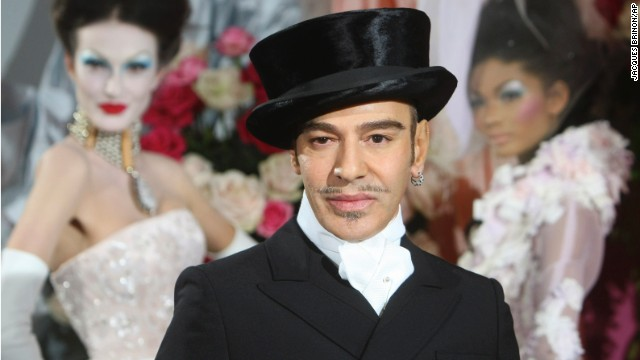 """I love Hitler,"" was about the tamest thing John Galliano said in an anti-Semitic rant caught on tape in 2011. As a result, Galliano was <a href='http://www.cnn.com/2011/SHOWBIZ/celebrity.news.gossip/03/01/portman.galliano/index.html'>fired from fashion giant Christian Dior</a> and found guilty of making public insults based on o"