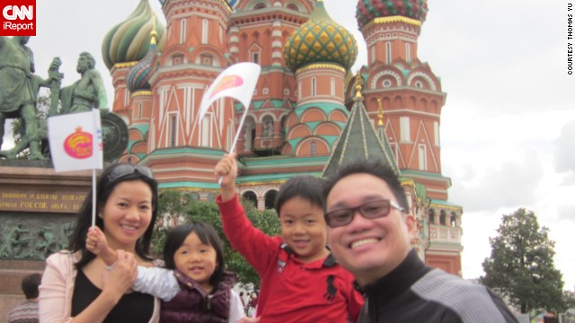 "Isabella was 3 and Alexander was 5 when <a href='http://ireport.cnn.com/docs/DOC-1095958'>Thomas Yu</a> and his wife took their kids to Moscow. ""The unfortunate reality is that for people that do not currently have kids, they will not understand and feel agitated when for example, kids cry on the plane. Of course, proper planning will help reduce the discomfort of those around you but will not fully eliminate it."""