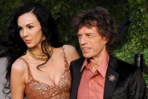 L'Wren Scott, Mick Jagger y su moda